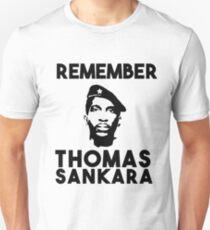 Remember Thomas Sankara Unisex T-Shirt