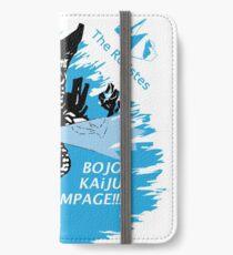 The Rolistes Podcast - Kaiju Bojo (Blue Splash) iPhone Wallet/Case/Skin