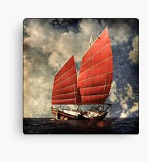 Chinese Junk Canvas Print