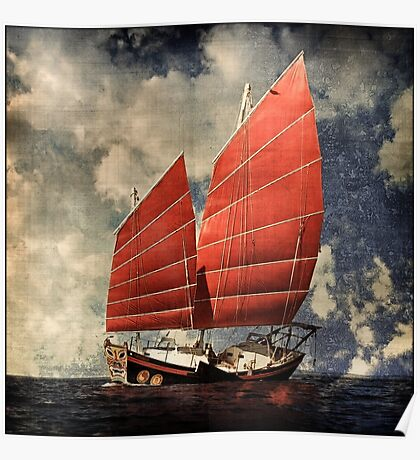 Chinese Junk Poster