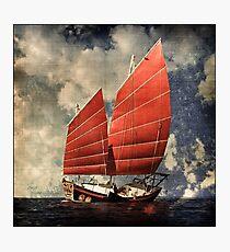 Chinese Junk Photographic Print