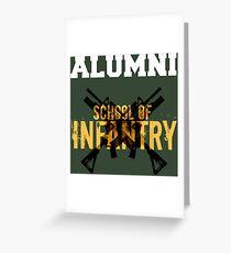 School of Infantry Alumni Greeting Card