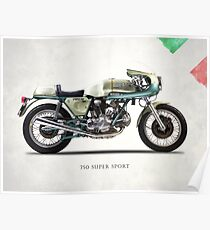 The 750SS 1974 Poster