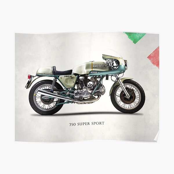 Le 750SS 1974 Poster
