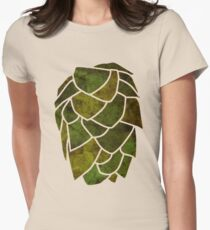 Hop Cone Women's Fitted T-Shirt