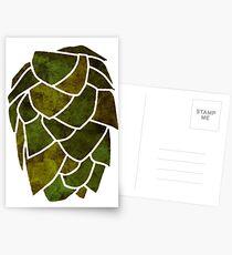 Hop Cone Postcards