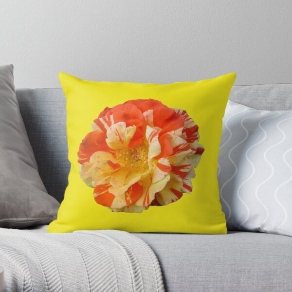 Oranges and Lemons - Yellow is my Happy Colour Throw Pillow