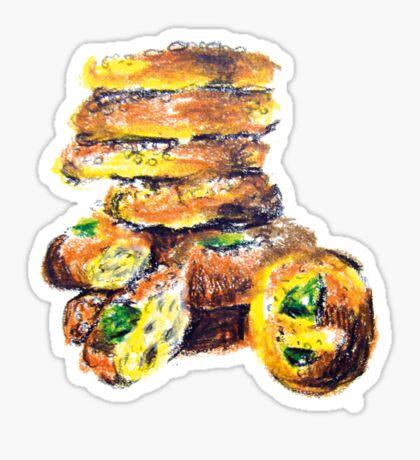 Gâteau Biscuit dessin Sticker