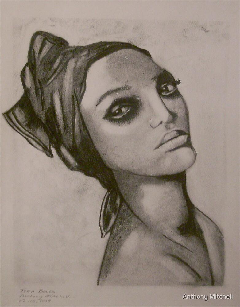 Tyra Banks Anthony Mitchell by Anthony Mitchell