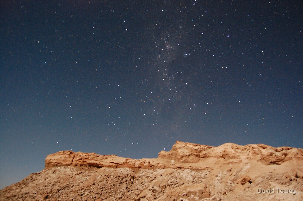 Valley fo the moon at night by David Towey