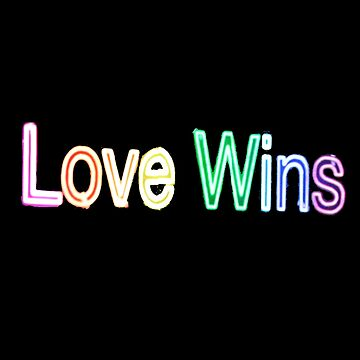 Love Wins (Neon Lights) by jbtiger1992