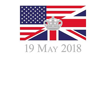 American British Royal Wedding Celebration T-Shirt by barrowandcole