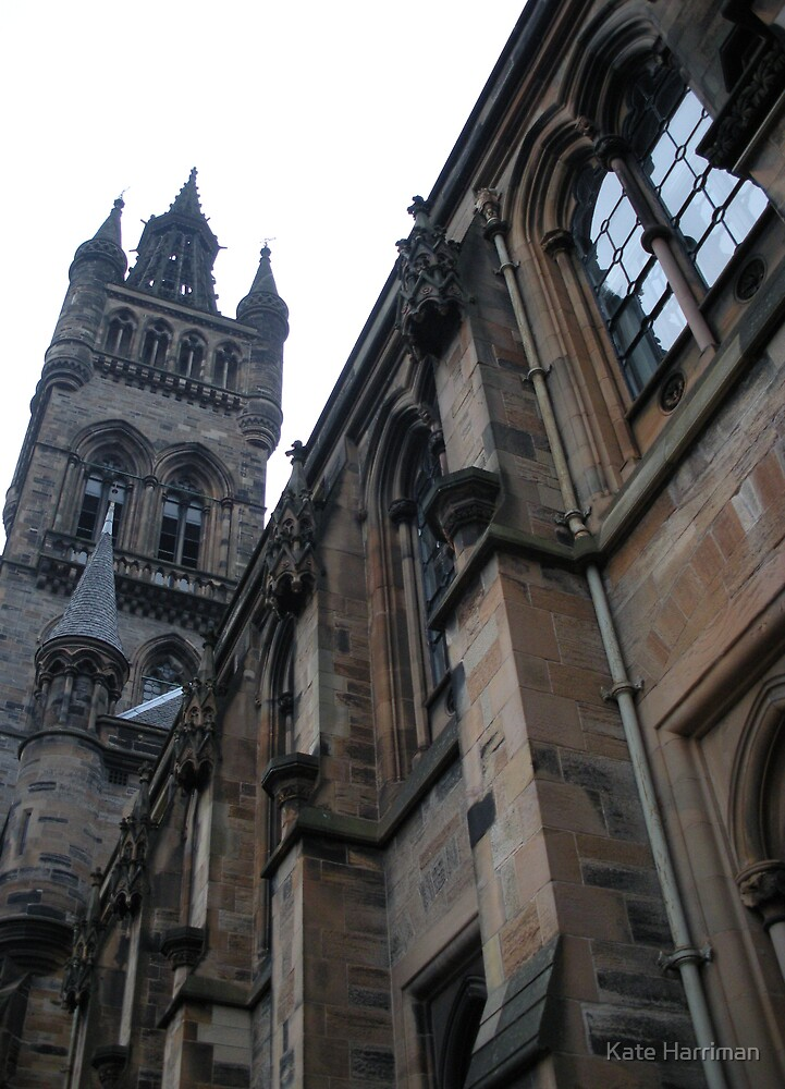 Glasgow University by Kate Harriman