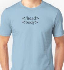 HTML Body Slim Fit T-Shirt