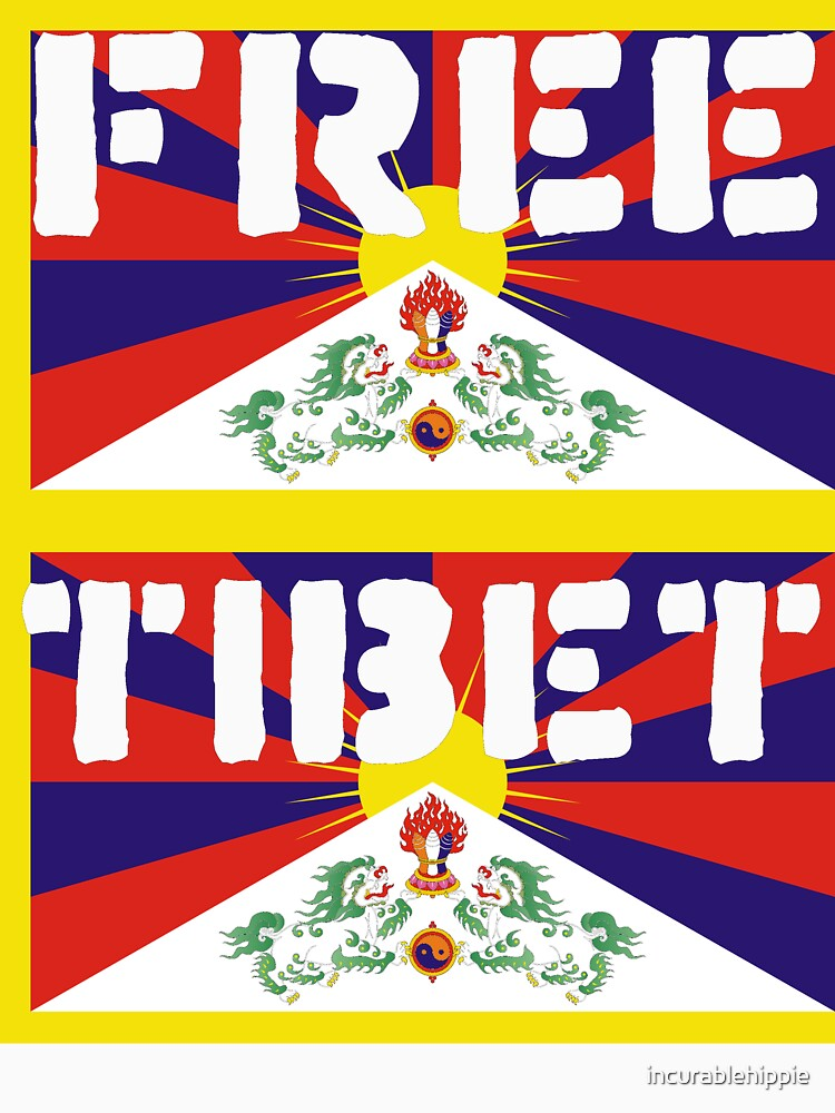 Free Tibet by incurablehippie