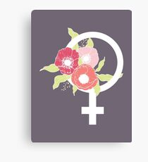 Female #redbubble #buyart Canvas Print