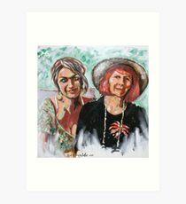 Desi's Grandma Art Print