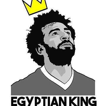 Mohamed Salah the Egyptian King by Nkioi