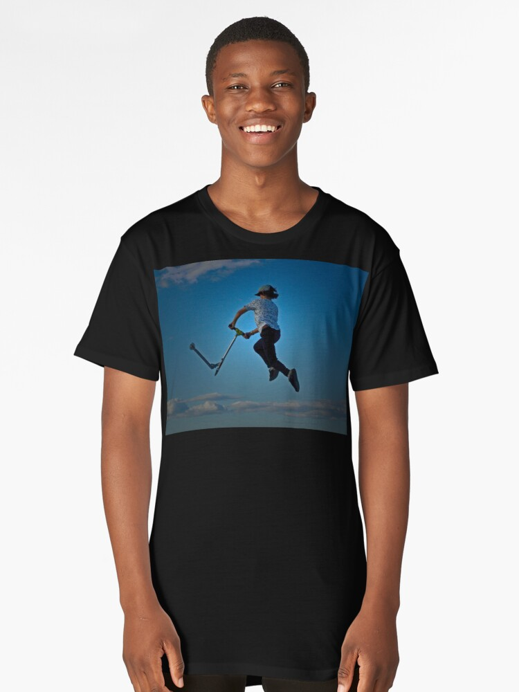Scooter?? Long T-Shirt Front