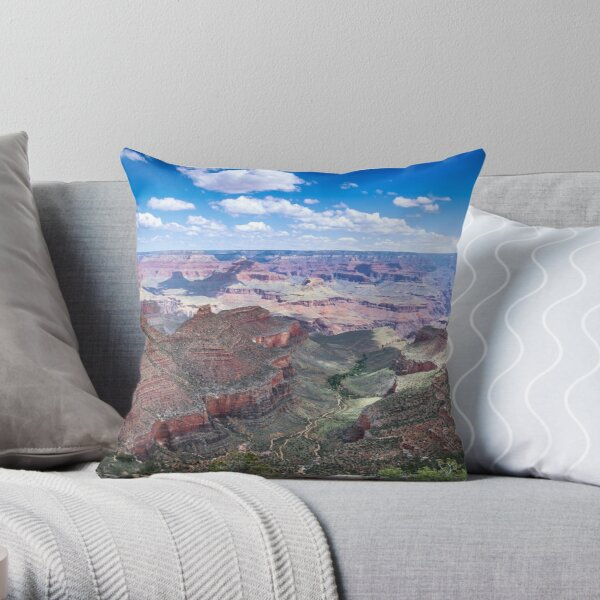 Grand Canyon I Throw Pillow