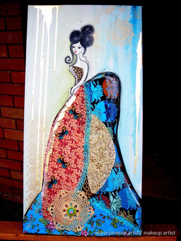 felisha blue by alana janesse artist/ makeup artist