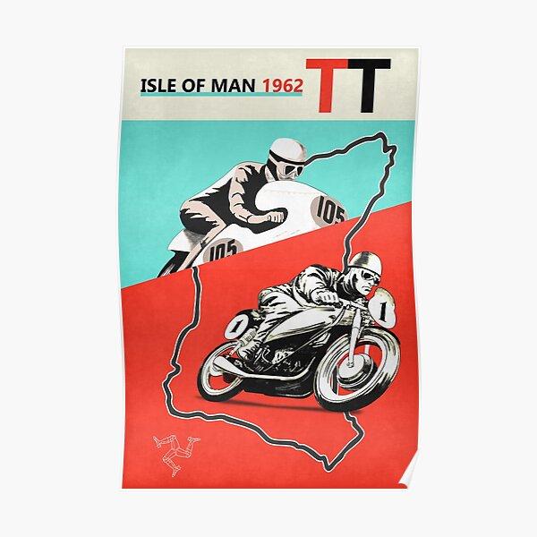 Vintage Isle of Man TT Poster