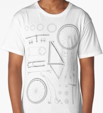 Bike Exploded Long T-Shirt