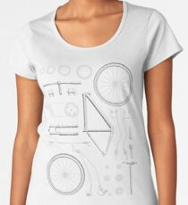 Bike Exploded Women's Premium T-Shirt
