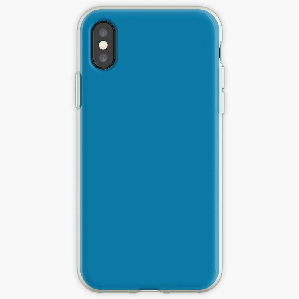CG Blau iPhone-Hülle & Cover