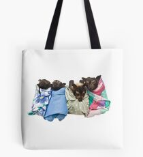 Baby Fruit Bats Tote Bag