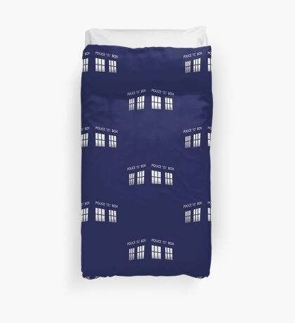 Time Box Duvet Cover
