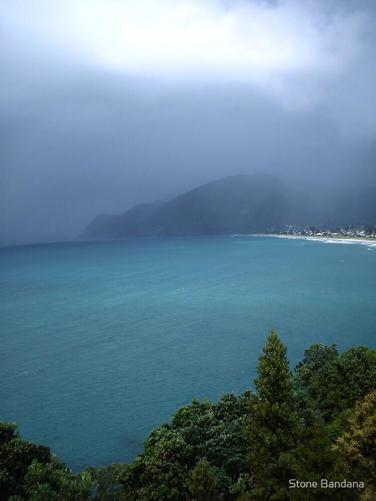 Ocean blue New Zealand  by Stone Bandana