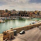 Heraklion Old Port by Tom Gomez