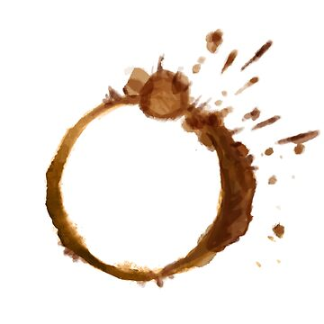 Coffee stain by seriousGEO