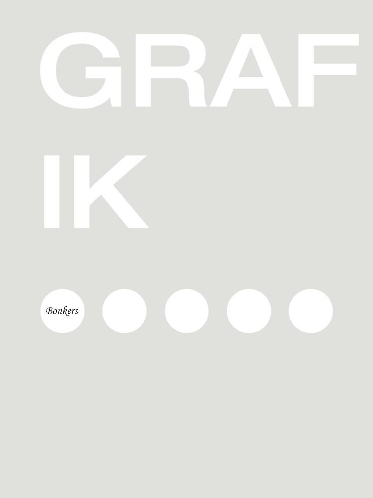 Bonkers - GRAFIK by tristanmillward