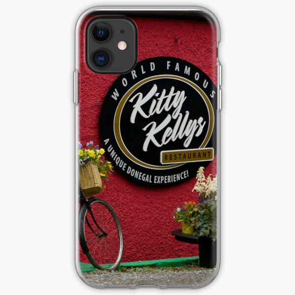 Kitty Kelly's restaurant, Donegal - wide iPhone Soft Case