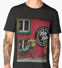 Kitty Kelly's restaurant, Donegal - wide Men's Premium T-Shirt
