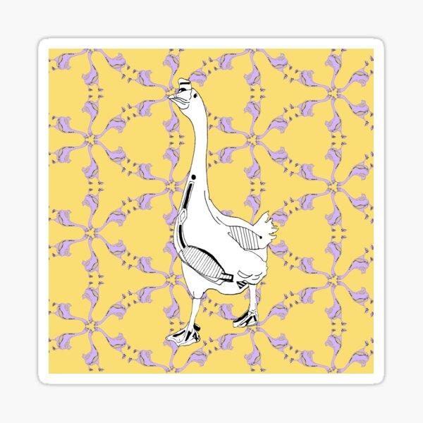 Kaleidoscope Geese Sticker