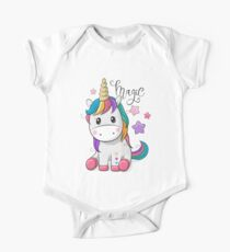 Cartoon Unicorn One Piece - Short Sleeve
