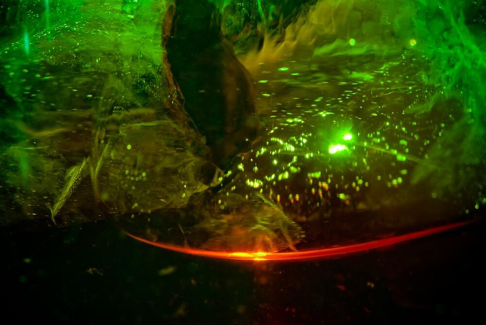 green ice by gorka arcocha