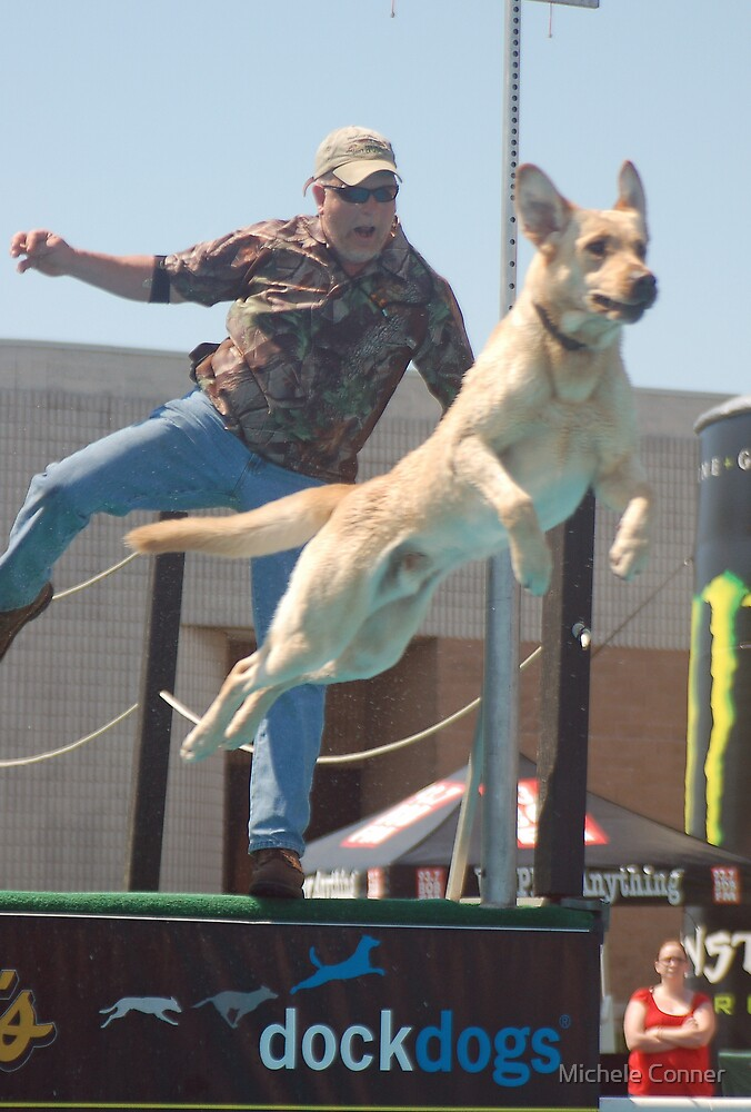 Dockdogs double jump by Michele Conner