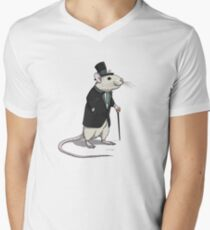Fancy Rat Men's V-Neck T-Shirt