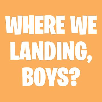 Where We Landing Boys? by fandemonium