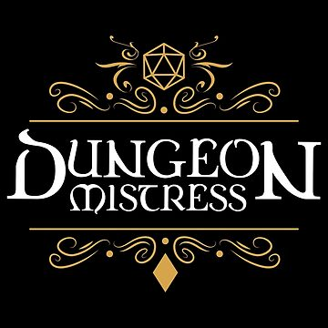 Dungeon Mistress - Game Master Tabletop RPG Gaming de pixeptional