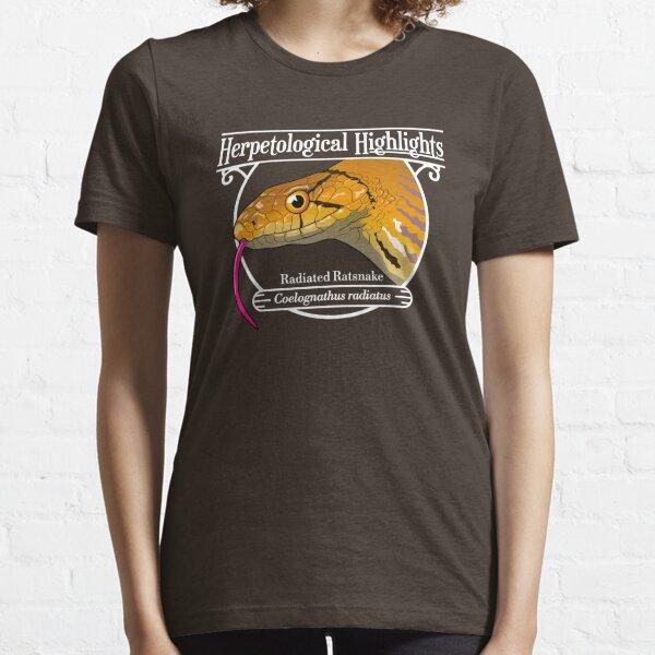 Radiated ratsnake - Coelognathus radiatus | White Essential T-Shirt