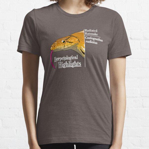 Radiated ratsnake - Coelognathus radiatus | Alternative white Essential T-Shirt