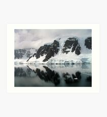 Neumayer Channel, Antarctic Peninsula Art Print