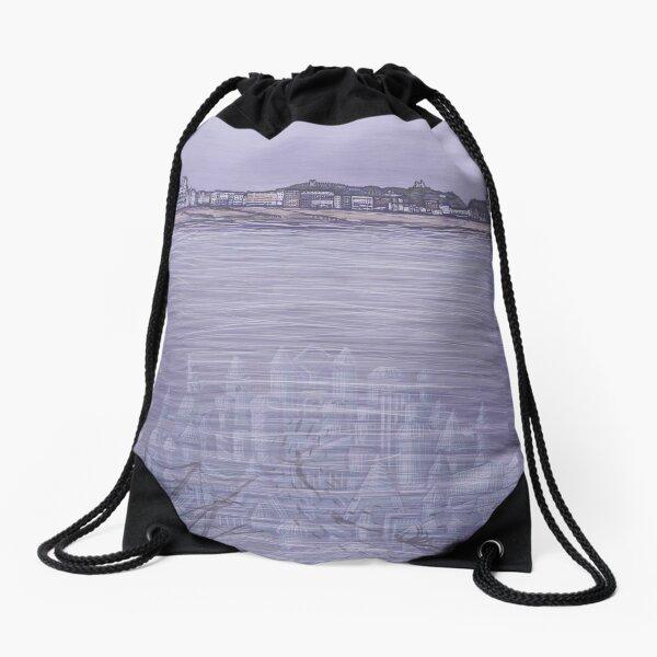 Undersea Drawstring Bag