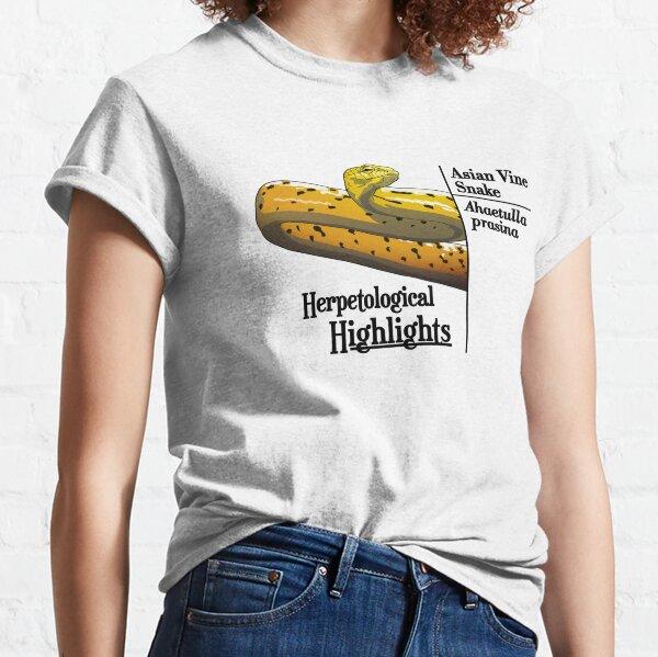 Ahaetulla prasina - Asian Vine Snake   Alternative Classic T-Shirt