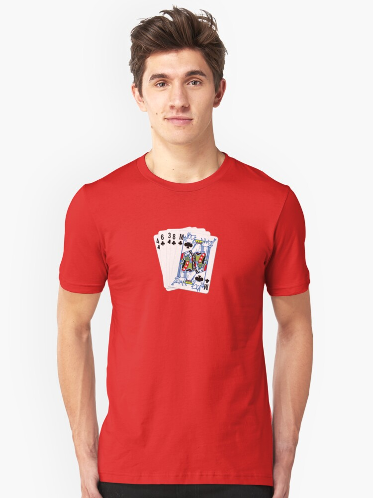 Moose High Flush Unisex T-Shirt Front